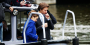 Shailene Woodley and Ansel Elgort on Amsterdam set of 'The Fault In Our Stars'